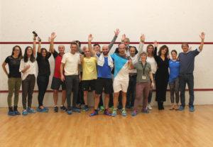 Partecipanti Torneo Elite Roma squash