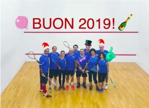 Team Happy new year 2019 Open Squash